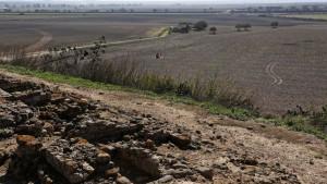 Vista de la zona desde el yacimiento de Doña Blanca. / FITO CARRETO